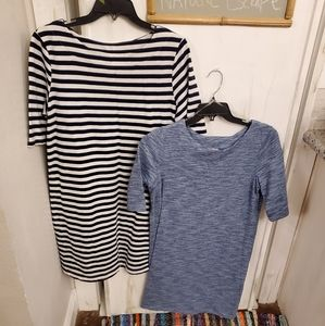Bundle of tee shirt dresses
